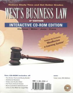 Pkg: West's Business Law and West's Business Law CD ROM