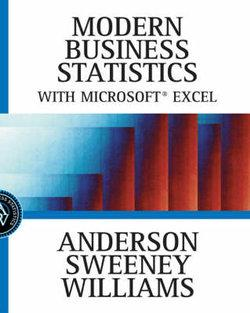 Modern Business Statistics with Microsoft® Excel