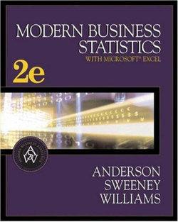 Modern Business Statistics (with CD-ROM and InfoTrac)