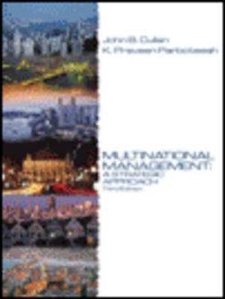 Multinational Management : A Strategic Approach