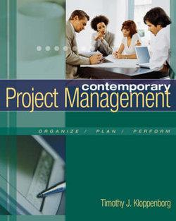 Contemporary Project Management (with Microsoft® Project CD-ROMs and Student CD-ROM)
