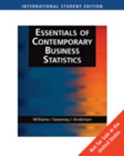 Essentials of Contemporary Business Statistics, International Edition (with CD-ROM)