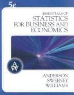 Essentials of Statistics for Business and Economics (with CD-ROM)