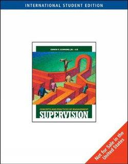 Supervision : Concepts and Practices of Management, International Edition (with Management Central Printed Access Card)