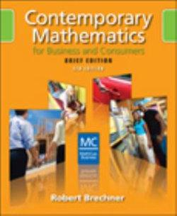 Contemporary Mathematics for Business and Consumers, Brief Edition (with CD-ROM)