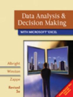 Data Analysis and Decision Making with Microsoft® Excel, Revised (with CD-ROM and Decision Tools and Statistic Tools Suite)