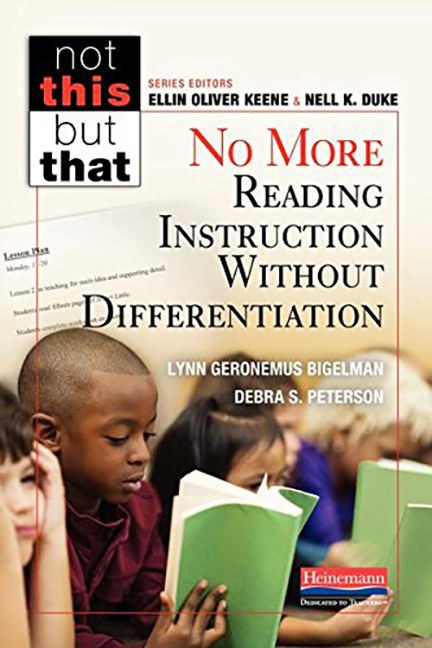 Not This But That: No More Reading Instruction Without Differentiation