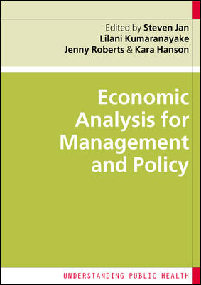 Economic Analysis for Management and Policy