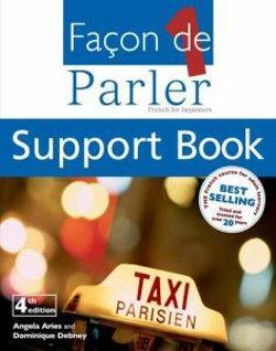 Facon De Parler 1 Cd & Transcript 4Th Edition: French For Be