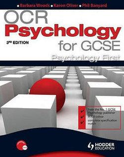 OCR Psychology for GCSE: Psychology First 3rd Edition