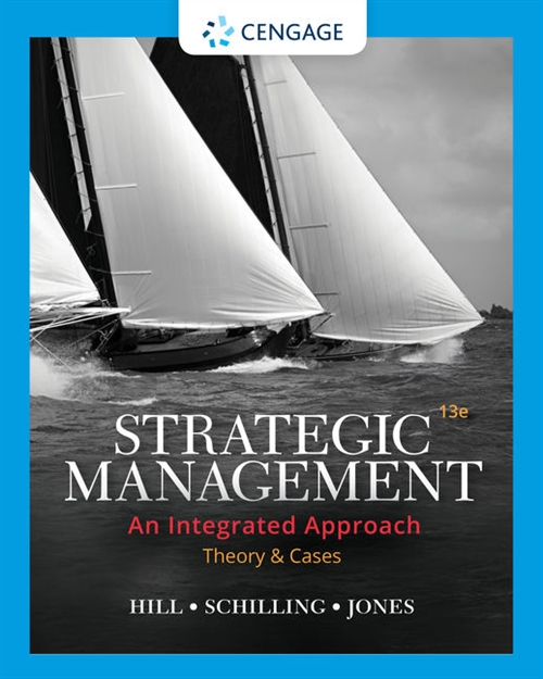 Strategic Management : Theory & Cases: An Integrated Approach