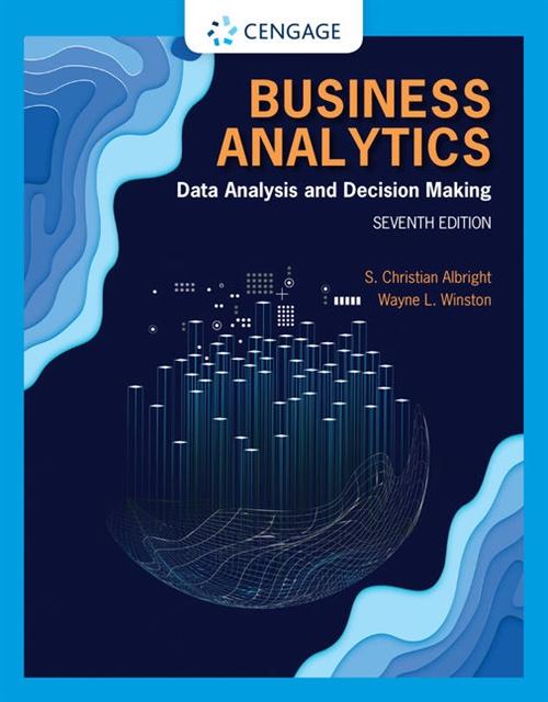 Business Analytics : Data Analysis & Decision Making