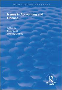 Issues in Accounting and Finance