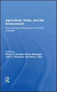 Agriculture, Trade, and the Environment