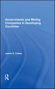 Governments And Mining Companies In Developing Countries