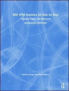 IBM SPSS Statistics 26 Step by Step