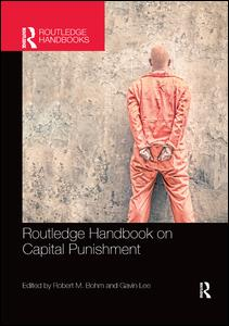 Routledge Handbook on Capital Punishment PBD
