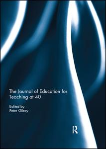 The Journal of Education for Teaching at 40