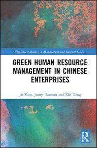 Green Human Resource Management in Chinese Enterprises