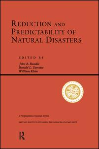 Reduction And Predictability Of Natural Disasters