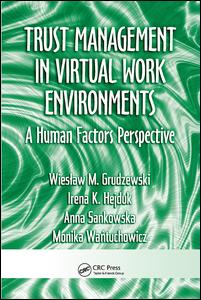 Trust Management in Virtual Work Environments