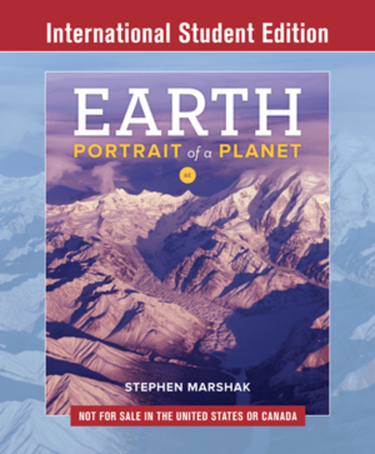 Earth 6th International Student Edition with Bind in Card for eBook and Smartwork5 and Guided Inquiry Activities