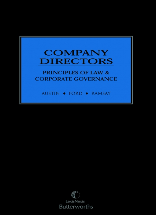 Company Directors: Principles of Law and Corporate Governance