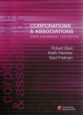 Corporations and Associations: Cases and Materials, 10th Edition