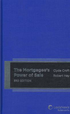 Mortgagee's Power of Sale, 3rd Edition