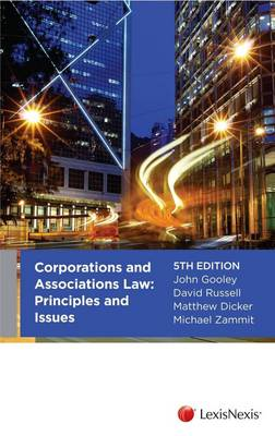 Corporations and Associations: Principles and Issues, 5th edition
