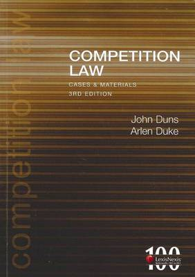 Competition Law - Cases and Materials