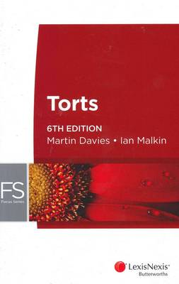 Focus: Torts, 6th Edition