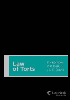 Law of Torts 5th Edition (Hardback)