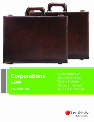 Corporations Law, 4th Edition