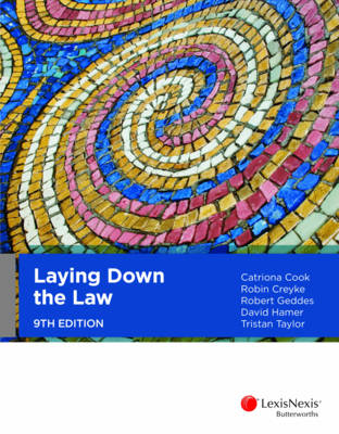Laying Down the Law 9th Edition