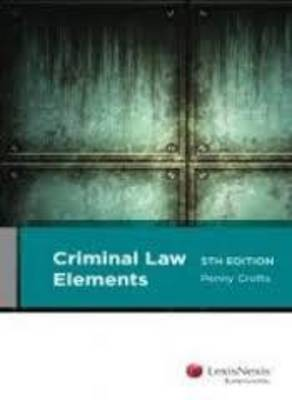 Criminal Law Elements 5th Edition