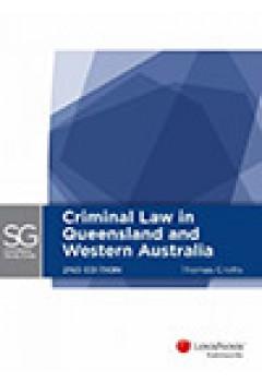 LexisNexis Study Guide Criminal Law Qld and WA 2E