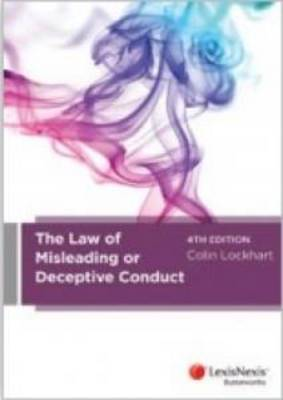 The Law of Misleading or Deceptive Conduct, 4th edition