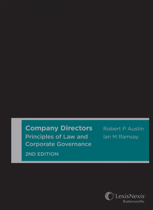 Company Directors: Principles of Law and Corporate Governance, 2nd edition (Cased)
