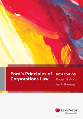 Ford, Austin & Ramsay's Principles of Corporations Law, 16th edition