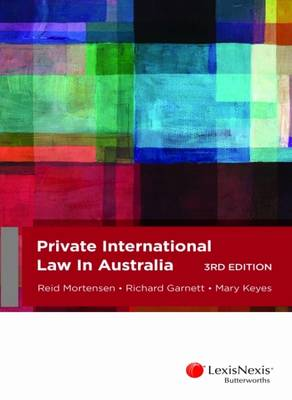 Private International Law in Australia, 3rd edition