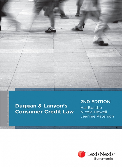 Duggan & Lanyon's Consumer Credit Law, 2nd edition