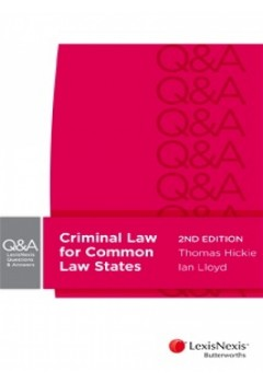 LexisNexis Questions & Answers: Criminal Law for Common Law States, 2nd edition