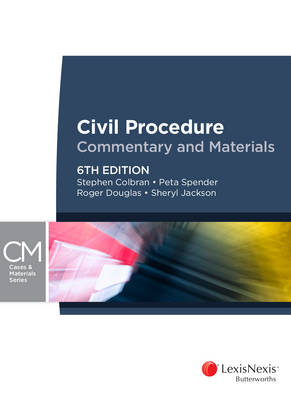 Civil Procedure — Commentary and Materials, 6th edition