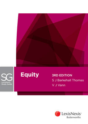 LexisNexis Study Guide: Equity, 3rd edition