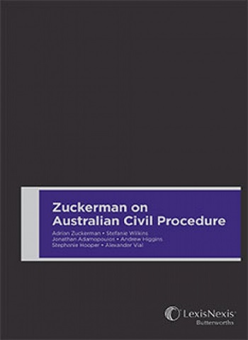 Zuckerman on Australian Civil Procedure