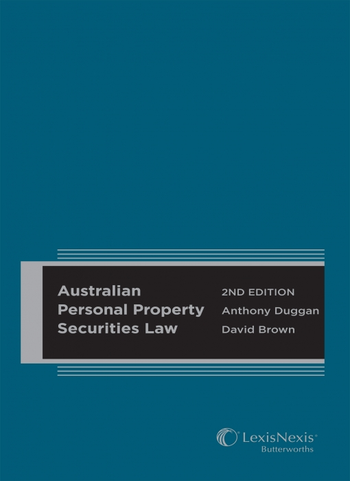 Australian Personal Property Securities Law, 2nd edition (Hard cover)