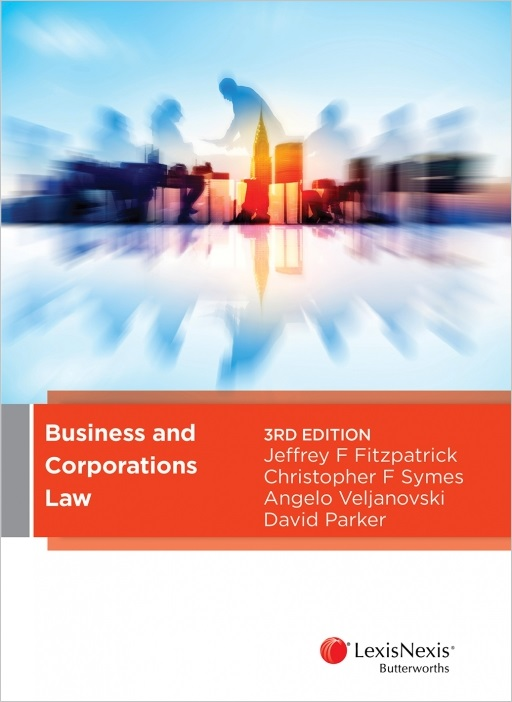 Business and Corporations Law, 3rd edition