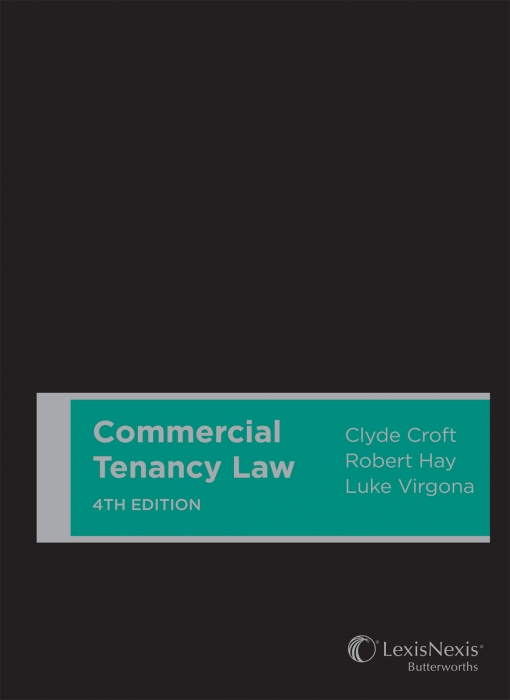 Commercial Tenancy Law, 4th edition (Cased)