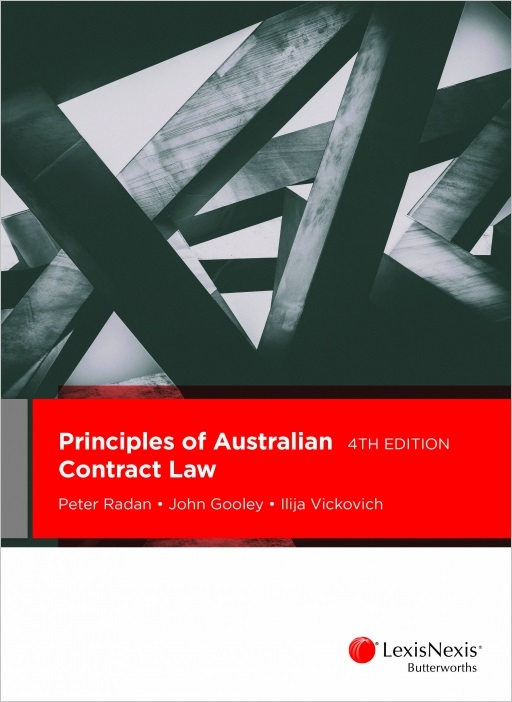 Principles of Australian Contract Law, 4th edition